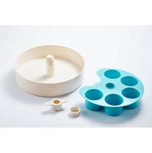 Spin Interactive Slow Feed Bowl Blue Parts