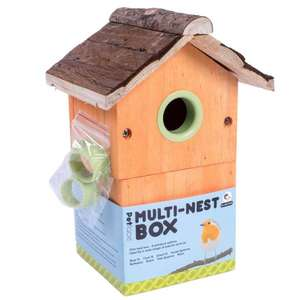 Petface Multi Nest Box for Wild Birds