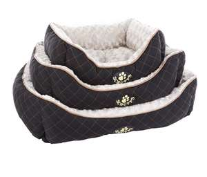 Scruffs Wilton Box Bed For Dogs Sizes Black