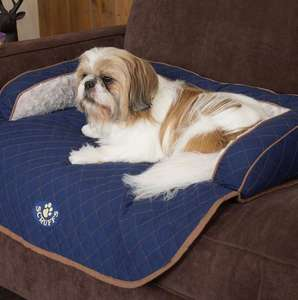 Scruffs Wilton Sofa Bed For Dogs Blue