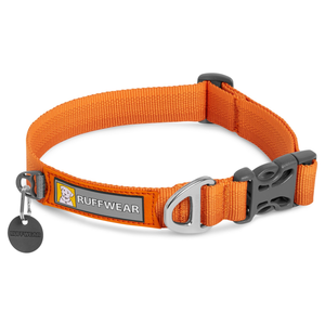 Ruffwear Front Range Collar - Campfire Orange