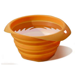 Kurgo collaps-a-bowl orange