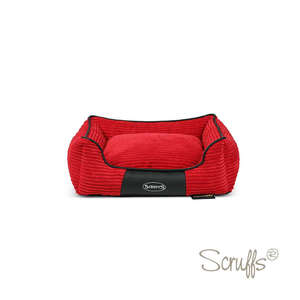 Scruffs Milan Orthopaedic Bed For Dogs Cherry Red Medium