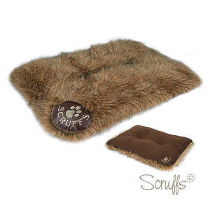 Scruffs Siberian Reversible Dog Mattress Timber Wolf