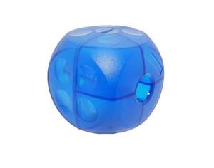 buster soft food cube for dogs - mini blue