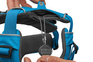 Ruffwear Front Range Harness For Dogs ID Pocket Detail