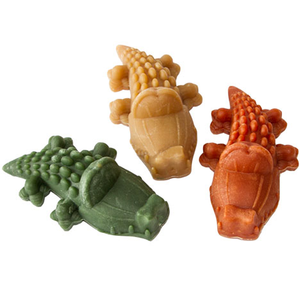 Whimzees Aligator Dog Chew - Assorted Colours