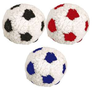 Dog Life Plush Berber Football With Squeak