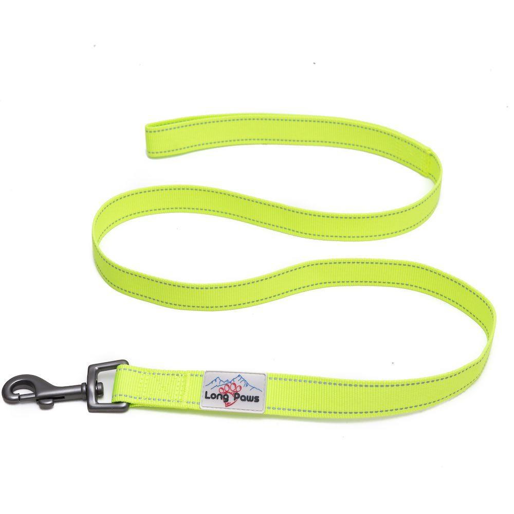 Long Paws Urban Trek Reflective Neon Leash