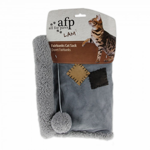 All For Paws Lamb Fairbanks Cat Sack in grey