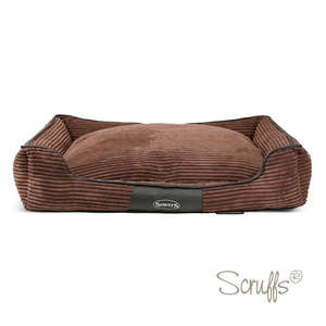 Scruffs Milan Orthopaedic Bed For Dogs Chocolate Brown X Large