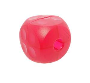 buster soft food cube for dogs - mini magenta