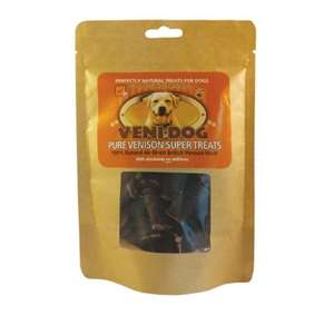 Veni-Dog natural venison super treats - packet