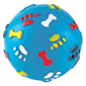 Gor Pets Gor Rubber Giggle Ball Blue