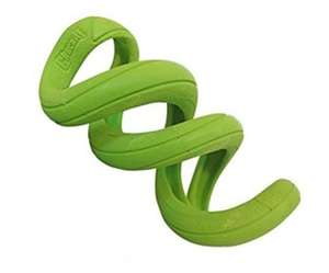 Chuckit Floppy Tug Durable Tough Tug Toy For Dogs Green