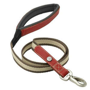 Petface Signature Country Padded Dog Leads Red