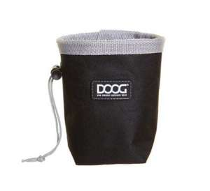 DOOG Good Dog Treat Pouch Small Black