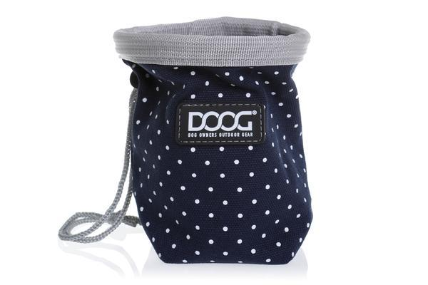 DOOG Good Dog Treat Pouch Small Polkadot
