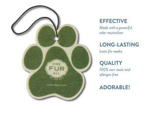 Pet House Car Air Freshener Features