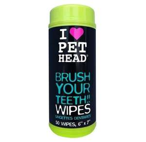 Pet Head Brush Your Teeth Wipes For Dogs