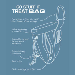 Kurgo Go Stuff It Treat Bag For Dogs Features