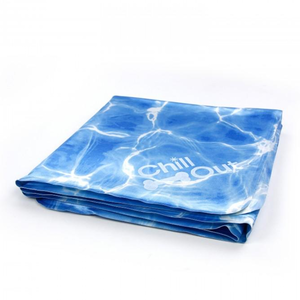 All for paws chill out always cool cooling mat for dogs large folded