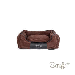 Scruffs Milan Orthopaedic Bed For Dogs Chocolate Brown Medium