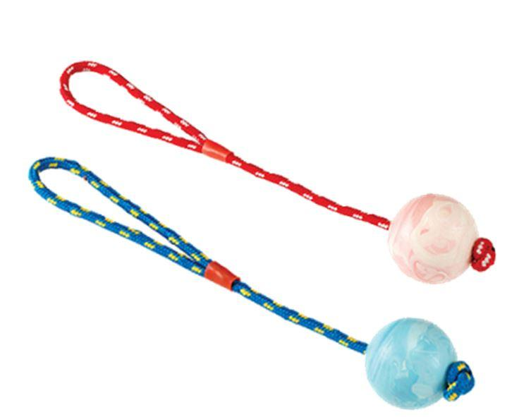 Gor Pets Gor Rubber Rope Ball For Dogs