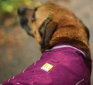 Ruffwear Sun Shower Waterproof Dog PVC Free Waterproof Material Jacket