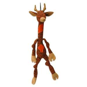 HuggleHounds X-Brace Dog Toy - Simone the Giraffe Large