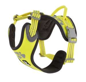 Hurtta Weekend Warrior Harness - Neon Lemon