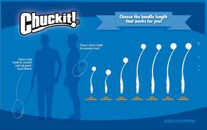 Chuckit! Max Glow Launcher With Glow Ball Size Chart