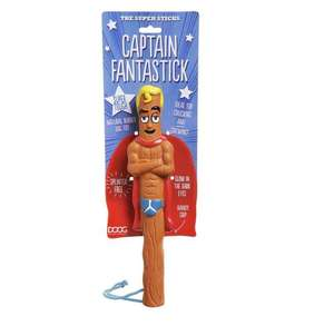 DOOG Super Sticks Super Hero Dog Fetch Toys - Captain Fantastick