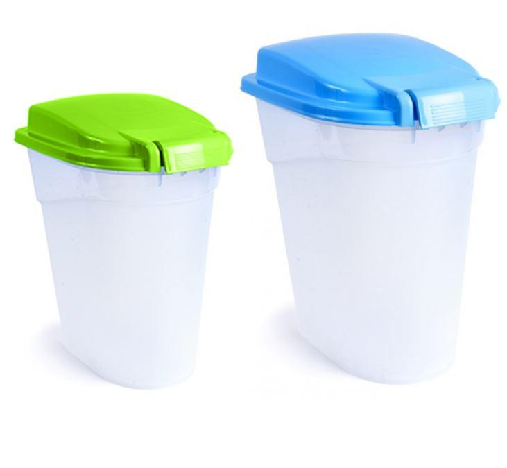 Petface storage container for dry pet food and bird seed - Sizes