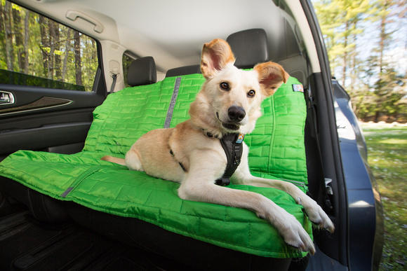 Kurgo Loft Bench Car Seat Cover For Dogs - Green