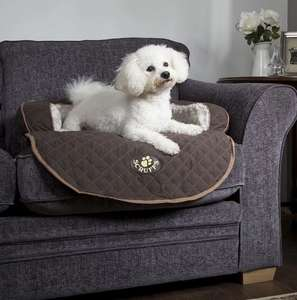 Scruffs Wilton Sofa Bed For Dogs Brown