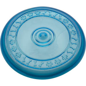 Petface Rubber Multi Frisbee Dog Toy in Blue