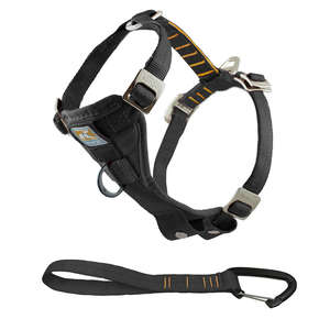 Kurgo Enhanced Strength Tru-Fit Car Harness For Dogs black