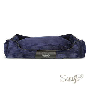 Scruffs Milan Orthopaedic Bed For Dogs Navy Blue X Large