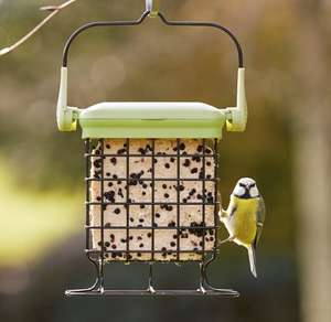Petface LokTop Wild Bird Feeder with Suet Cake Block