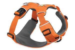 Ruffwear Front Range Harness For Dogs Orange Poppy