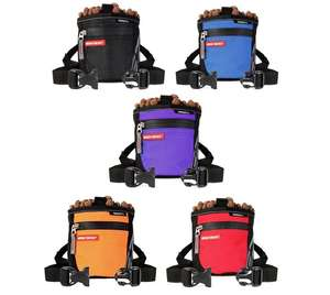 EzyDog SnakPak Dog Treat Bag Colours