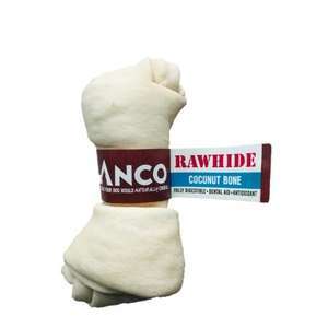 Anco Rawhide Coconut - Bone Medium