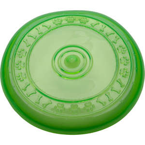 Petface Rubber Multi Frisbee Dog Toy in Green