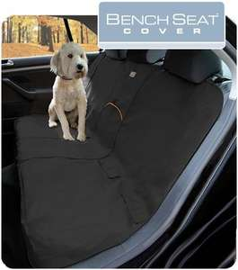 Kurgo car bench seat cover for dogs Black