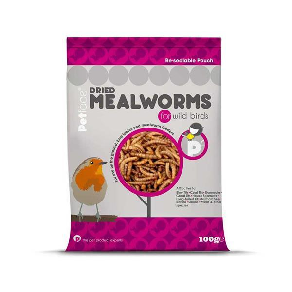 Petface Dried Mealworms For Wild Birds