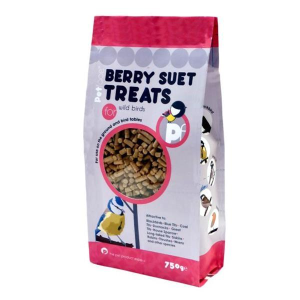 Petface Suet Treat For Wild Birds Berry