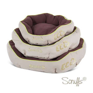 Scruffs Eco Pet Bed For Dogs Donut Stack