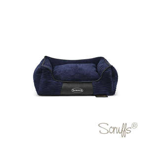 Scruffs Milan Orthopaedic Bed For Dogs Navy Blue Medium