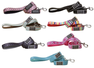 DOOG neoprene dog lead in all colours and designs